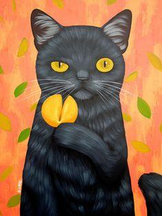 14- chats chiens.. illustrés série B ( C.C.L)De Cary Chun Lee ©