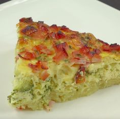 Pychotka! Food Tags, Breakfast Dishes, Quiche, Casserole, Avocado, Food And Drink, Healthy Recipes, Healthy Meals, Pizza