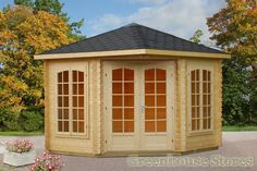 Palmako Log Cabins and summerhouses are the perfect way to create a new work or living space in your garden. #palmako #greenhousestores http://www.greenhousestores.co.uk/Palmako-Log-Cabins/