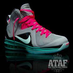 "Nike Lebron 9 Elite ""South Beach"""