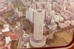 "ufansius: "" Ponte City, Johannesburg, South Africa Africa's tallest residential building, Ponte City was Johannesburg's poshest address (top photo by Graham Newell) when it opened in With the. Johannesburg City, Retro Futuristic, Nature Reserve, African History, The Good Old Days, Places Around The World, Live, South Africa, Landscape Photography"