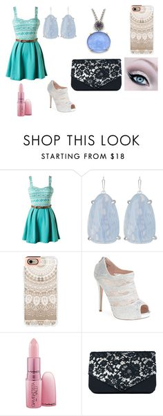 """A outfit"" by jordanbond55 ❤ liked on Polyvore featuring beauty, Kendra Scott, Casetify, Lauren Lorraine and Giambattista Valli"