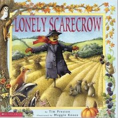 """Today, along with our other speech and language activities, we read """"The Lonely Scarecrow."""" This book teaches students about the changing seasons. Ask your students questions about new vocabulary as you go through the book and ask questions to make sure the students understand the various concepts behind each season. Please complete the attached homework."""