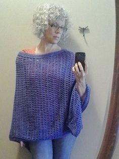 Morning Poncho Wrap free pattern. This pattern can be altered to fit anyone by changing the start count, or the length of the rectangle. I give both counts and measurements on the blog.