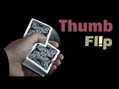 Easy card flourish - Thumb Flip