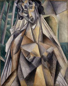 Pablo Picasso, Nu dans un fauteuil (Nude Woman in an Armchair) on ArtStack #pablo-picasso #art