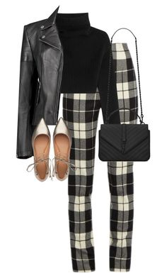 """Untitled #12973"" by alexsrogers ❤ liked on Polyvore featuring MaxMara, Valentino, Boohoo, Sigerson Morrison and Yves Saint Laurent"