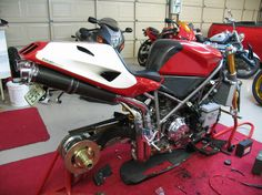 Rebuild ducati nearly done