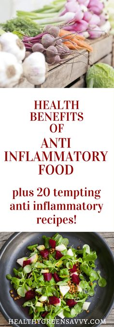 Anti inflammatory food has amazing health benefits! Find out which foods are the most #antiinflammatory plus recipes to inspire you to eat more of them! | healthy recipes | healing food | reduce #inflammation | disease prevention diet |