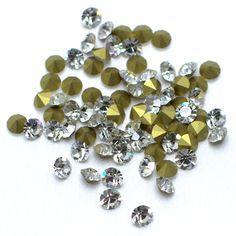 Strass preciosa ss24 cristal - Maximus Tecidos | Loja Online