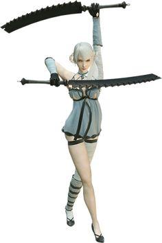 NieR - Kaine x Nier   Kaine (NieR)   Pinterest   Game character, Character art and Anime