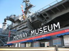 #8 USS Midway! Go to sea without leaving port!  The USS Midway Museum is an unforgettable adventure for the entire family.  Visitors to the Museum can relive nearly 50 years of world history, walking in the footsteps of thousands of Midway sailors who have served our country.