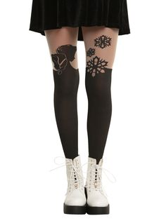 Disney Frozen Faux Thigh High Tights | Hot Topic