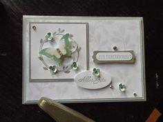 Kreativ am Deich : ..heute eine Silberhochzeitskarte....und Ende der Sale-a-Bration