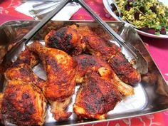 Grilled Deviled Chicken Legs