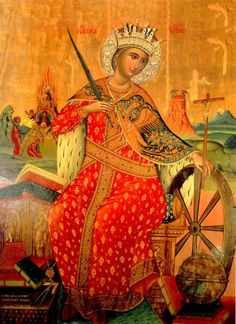 Listen to this life – courtesy of Ancient Faith Radio The Life of Holy Great-Martyr Katherine The Holy Great-Martyr Katherine was the daughter of Constus, the governor of Alexandrian Egypt, d…