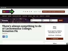 Lackawanna College's mission is to provide a quality education to all persons who seek to improve their lives and better the communities in which they live. Something To Do, College, Make It Yourself, Education, Youtube, University, Teaching, Training, Educational Illustrations