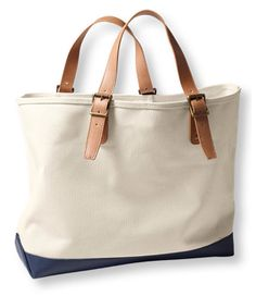 6acb6a6131eb Signature Somerset Canvas Tote - LL Bean Intl