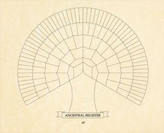 Download a Free Genealogy Family Tree Template / Chart