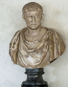 Bust with the head of Agrippa. Florence, Gallery of Uffizi Ancient Rome, Ancient Art, Ancient History, Roman Sculpture, Sculpture Art, Roman History, Art History, Galerie Des Offices, Roman Empire