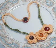 Etsy Transaction - Flower Necklace, iceice