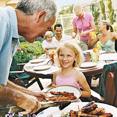 How to Plan a Family #BBQ.