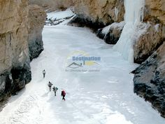 One of the toughest and most adventurous trek, the total distance of this tour (one way) is approximately 105 Km and will be covered with average distance of 15 to 17 km a day.   http://ladakhdestination.com/chadar-trek/