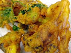 Curried Cauliflower Fritters recipe from Jamie Oliver via Food Network