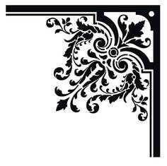 border, borders, damask, baroque, free, graphic design, vectors free, vectors for free, free vectors