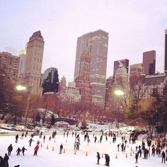 NYC in winter. beautiful  by Ashley & Aaron Bruhn, Hither & Thither
