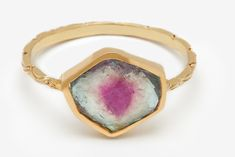 Come see why we love Watermelon Tourmaline gems at Ring O Blog!