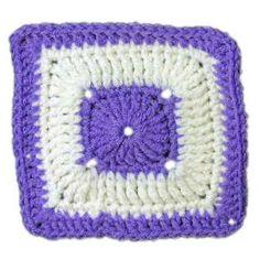 April Square - A free Crochet pattern from jpfun.com.