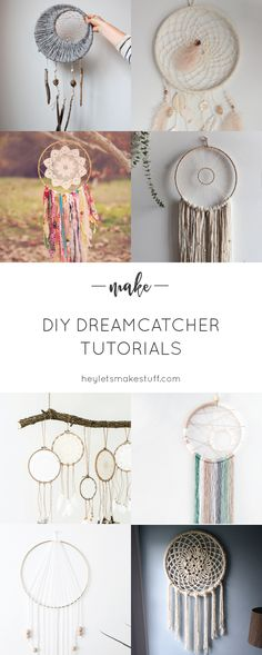 If you love the delicate, boho style of a dreamcatcher, here are 10+ DIY dreamcatcher tutorials for you to make your own!