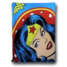Wonder Woman Fleece Throw