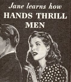 Jane Learns How Hands Thrill Men. (Companion, 1941)