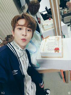 160804 #BlockB Weibo Update #Kyung #ParkKyung