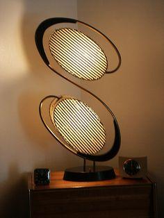 1950s Majestic table light
