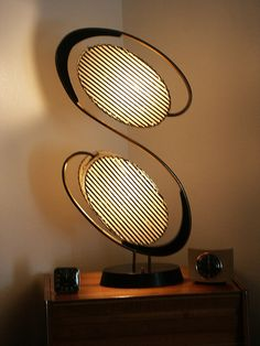 1950s Majestic table light