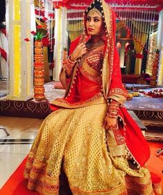 Mouni Roy Popular Indian Television Actresses And Their Bridal Looks In Their Shows