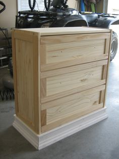 Rask Hack - Can we add trim to drawer fronts and moulding around bottom? IKEA