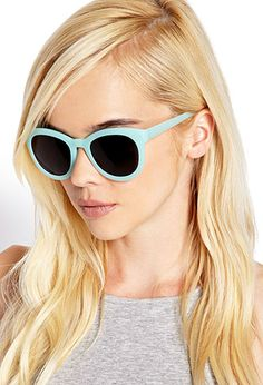 Retro Mint Sunglasses
