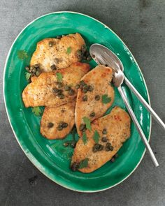 Sauteed Chicken with Capers | Martha Stewart - done in about 25 minutes
