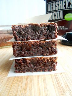 MY FAVORITE BROWNIES  Yield: One 8x8-inch pan (16 squares)     Ingredients: 3/4 cup all-purpose flour 1/3 cup plus 3 tablespoons unsweetened...