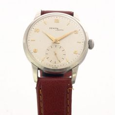 Zenith Sporto vintage watch from the 50s with movement cal. 126