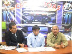Dialogando con Fredy Guevara y Henry Lovera en Canal 41.