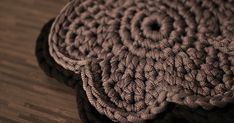 Items similar to Set of 2 crocheted trivets on Etsy Crochet Kitchen, Crochet Home, Knit Crochet, Hobbies And Crafts, Arts And Crafts, Cotton Cord, Crochet Patterns, Knitting, Create