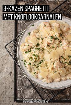 Feel Good Food, I Love Food, Dutch Recipes, Italian Recipes, Pasta Recipes, Fastfood, Clean Eating, Yummy Food, Lunch