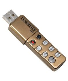 This Personal Pocket Safe USB flash drive requires a pin to ensure that your information is secure.