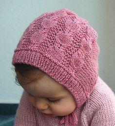 Ravelry: Silverfox Bonnet pattern by Lisa Chemery