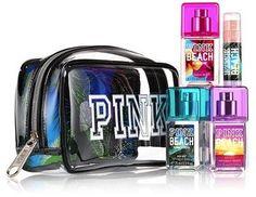 Victoria's Secret PINK Traveling Bag & Perfumes